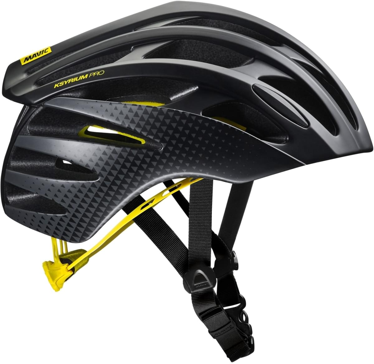 Mavic Ksyrium Pro Mips Helmet - black/yellow mavic L