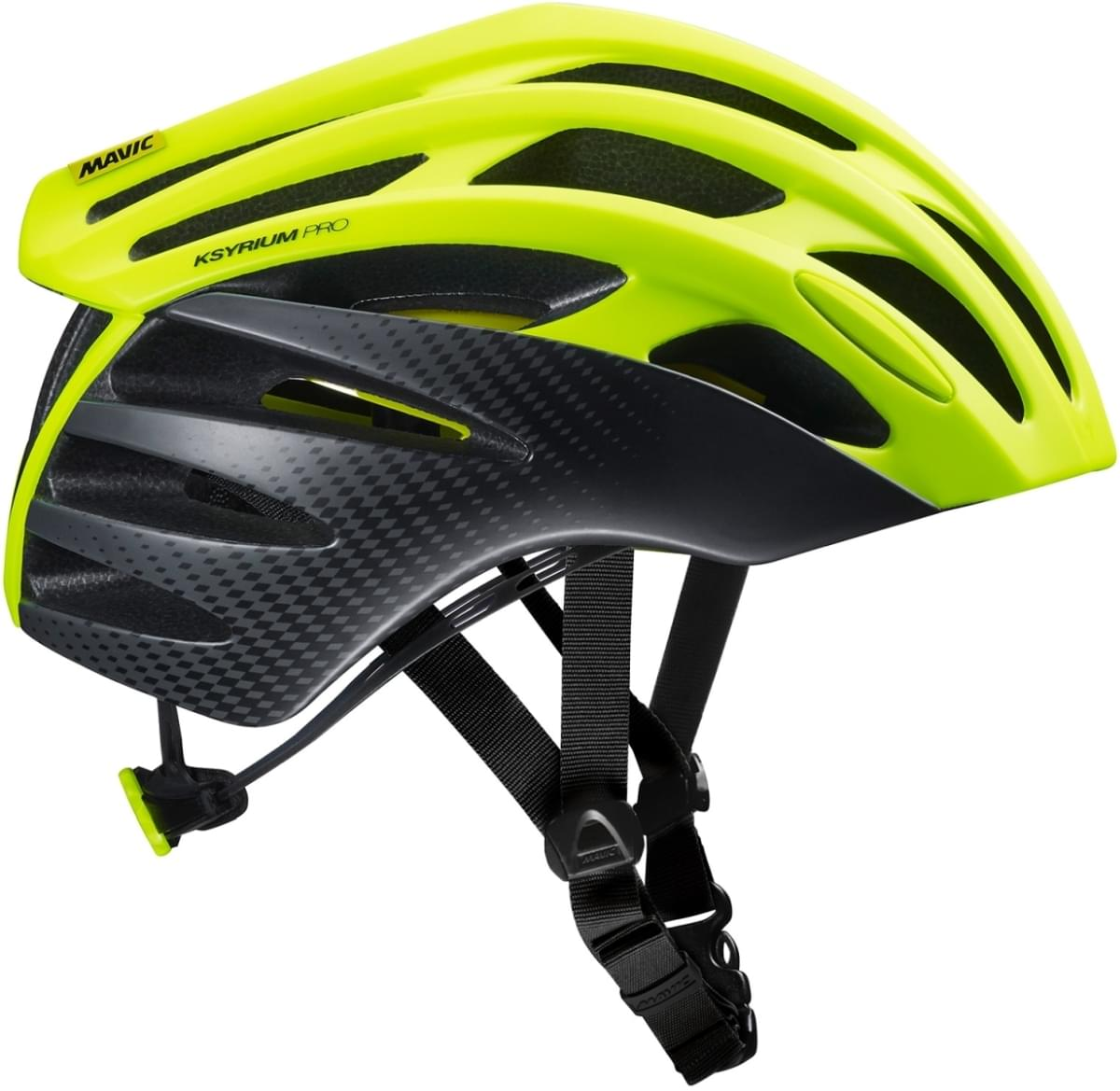 Mavic Ksyrium Pro Mips Helmet - safety yellow/black M