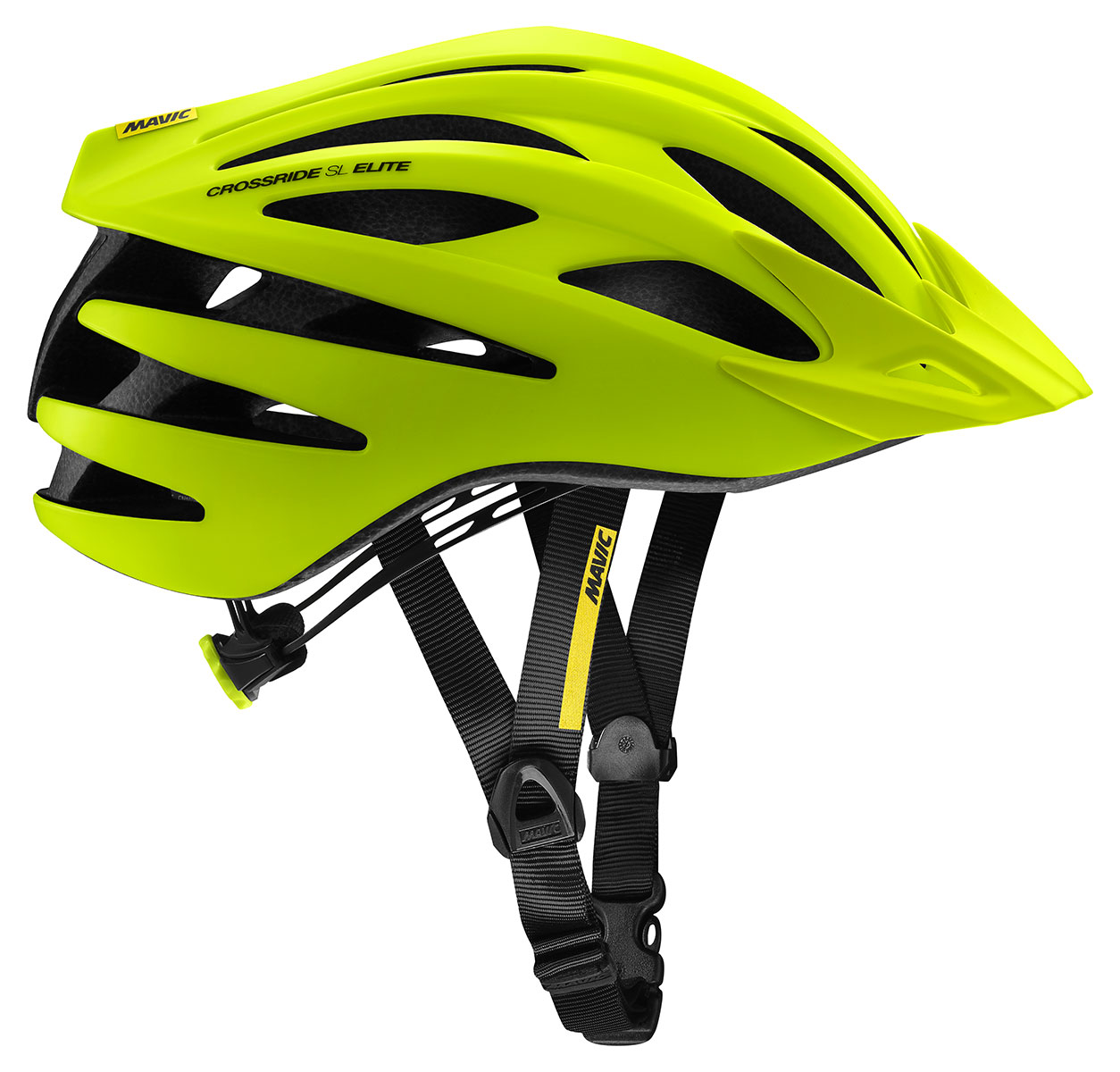 Mavic Crossride SL Elite Helmet - Safety Yellow/Black L-(57-61)