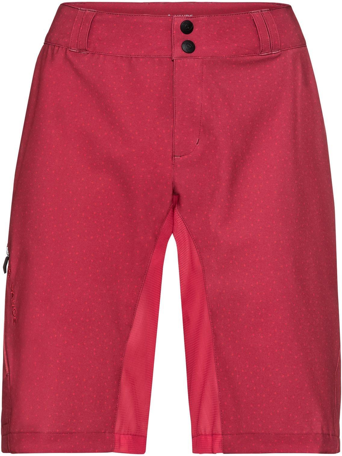 Vaude Women's Ligure Shorts - red cluster 40