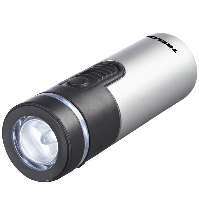 Přední a outdoorové světlo Trelock LS430 Fagoplus - silver uni