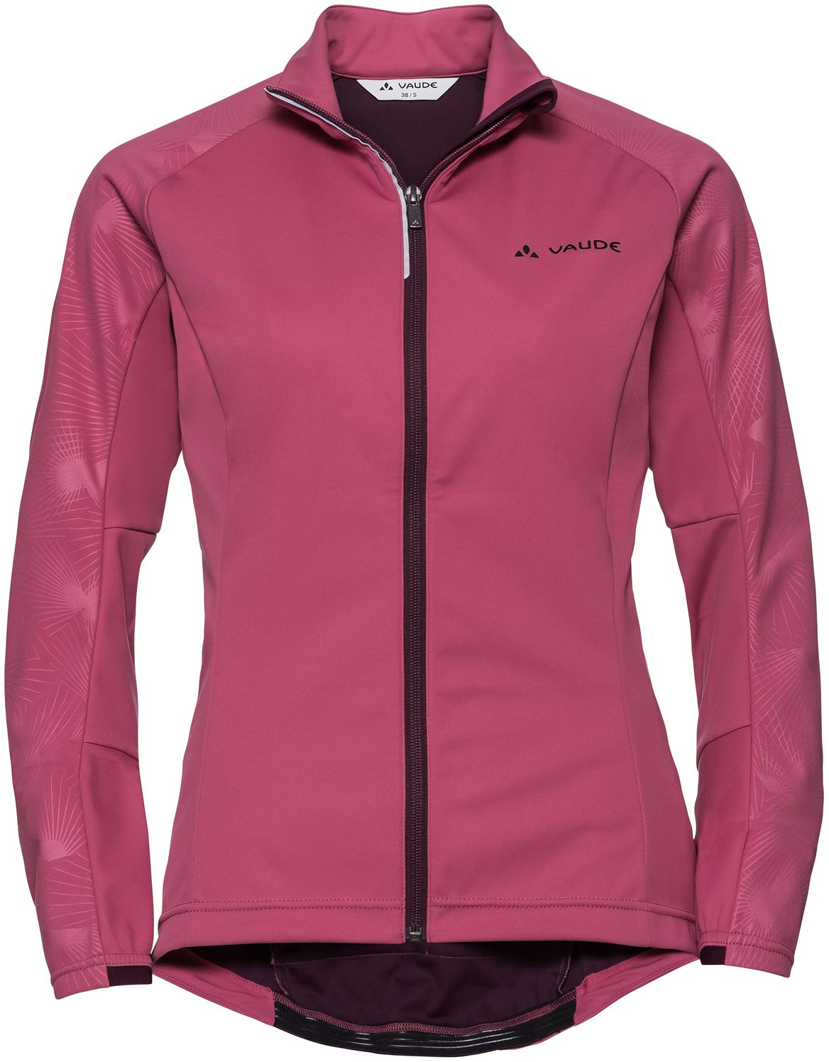 Vaude Women's Resca Light Softshell Jacket - grape 38
