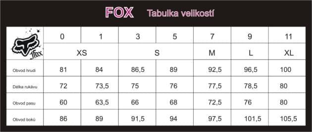 ffa61288d1a Dámské kraťasy Fox Lynx Short - health black - Ski a Bike Centrum ...