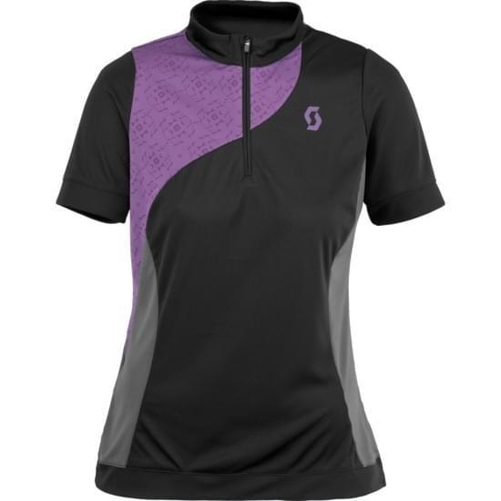 Dámský cyklistický dres Scott W\'s Sky Top Shirt - lavender S