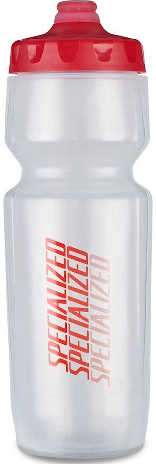 Specialized Purist Hydroflo Fixy 23 oz - translucent/red diffuse uni