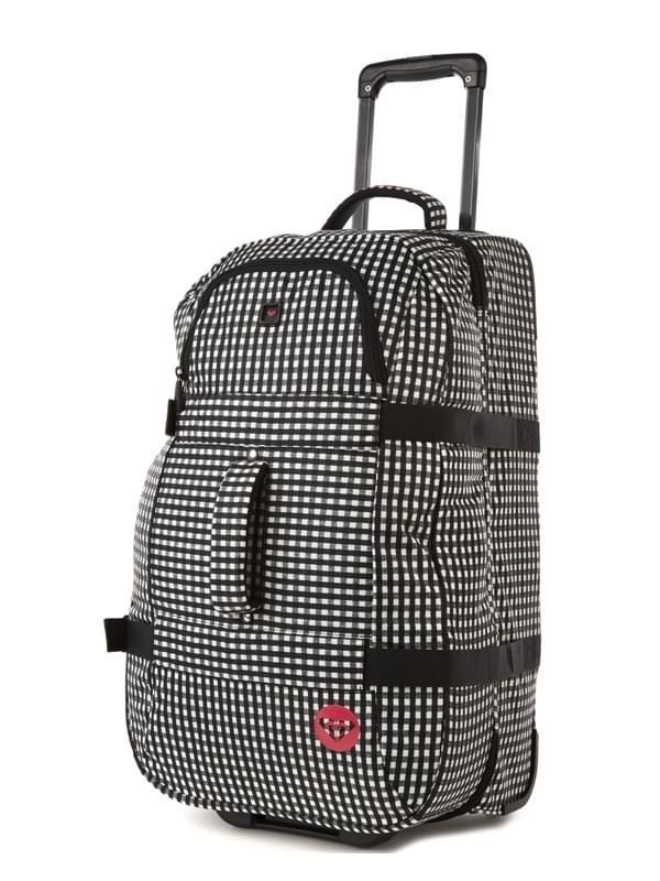 81f257df4de Dámská taška na kolečkách Roxy Go Abroad - gingham - Ski a Bike ...