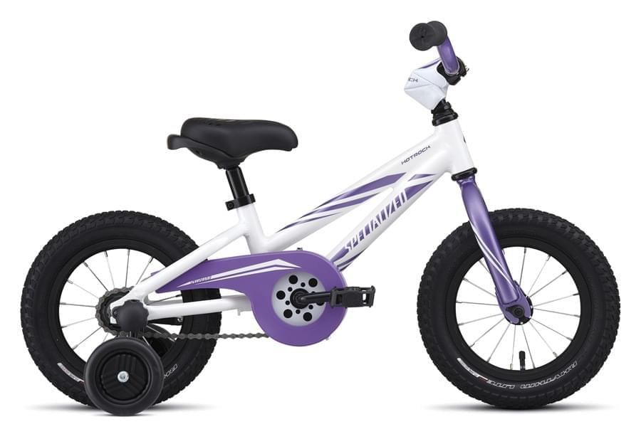 Dívčí kolo Specialized Hotrock Coaster 12 Girl int - white/purple uni