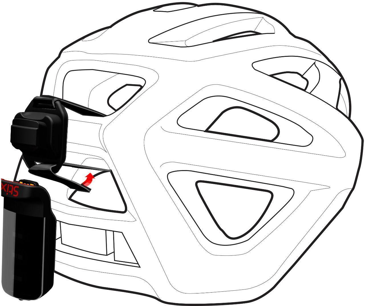 Specialized Stix Helmet Strap Mount - black uni