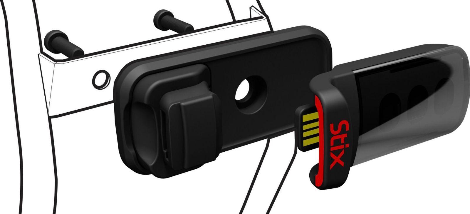 Specialized Stix Reflector Mount - black uni