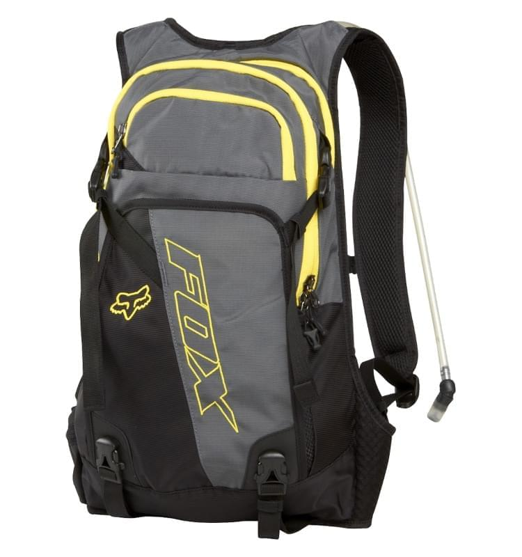 Cyklistický batoh s pitným vakem Fox Oasis Hydration Pack - grey ... 71fb6ba591