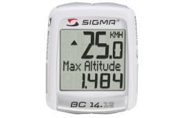 Cyklocomputer Sigma 14.12 - white uni