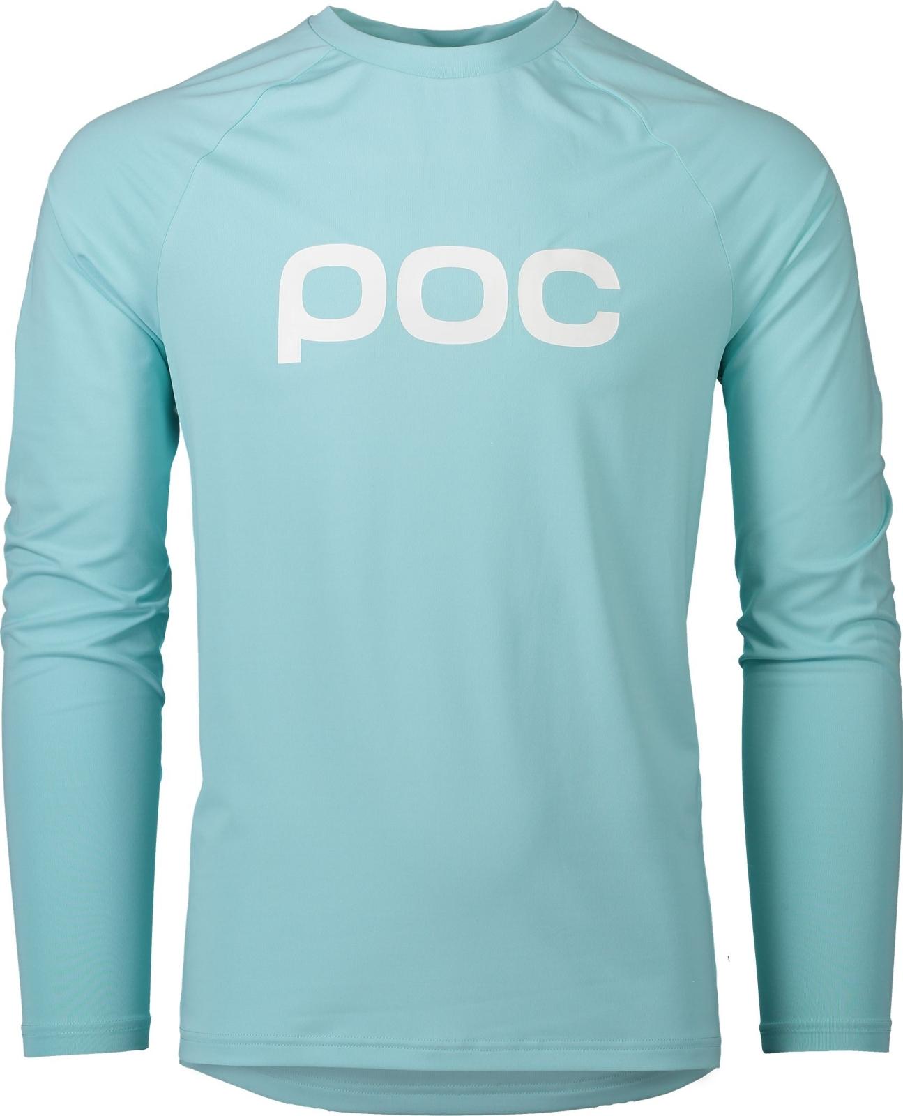 POC Essential Enduro Jersey - Light Kalkopyrit Blue XS