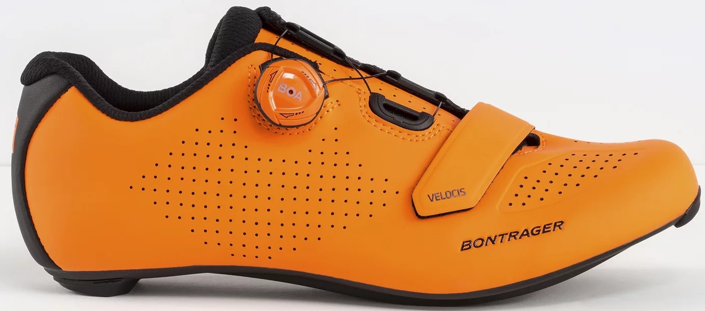 Bontrager Velocis Road Shoe - radioactive orange 40