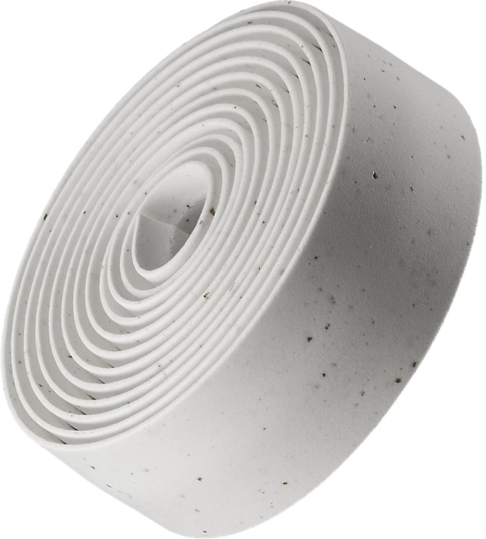 Bontrager Double Gel Cork Handlebar Tape - white uni