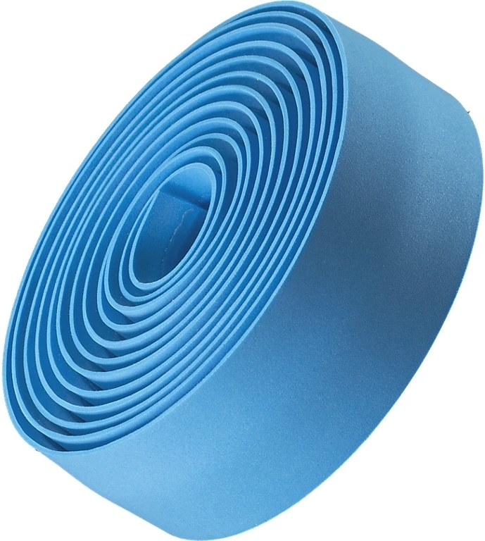 Bontrager Gel Cork Handlebar Tape - light blue uni
