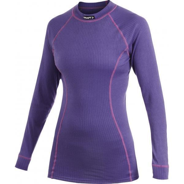 24736174d03 Dámské triko s dlouhým rukávem Craft Active - fialová - Ski a Bike ...