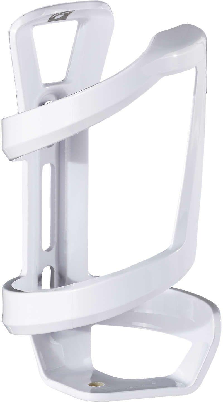 Bontrager Right Side Load Water Bottle Cage - white uni