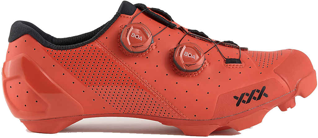 Cyklistické tretry Bontrager XXX Mountain Shoe - Viper Red 44