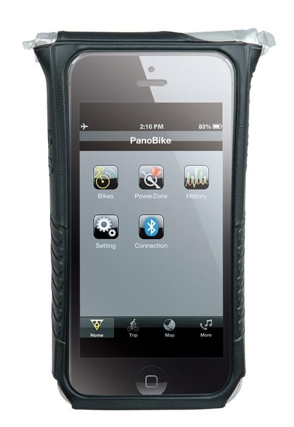 Voděodolná brašna Topeak IPhone 5 DryBag - black - Ski a Bike ... 4dd54c272c4