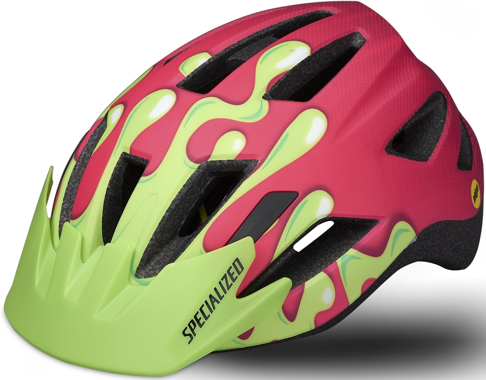 Specialized Shuffle Youth Led Sb Mips - acid pink slime 52-57