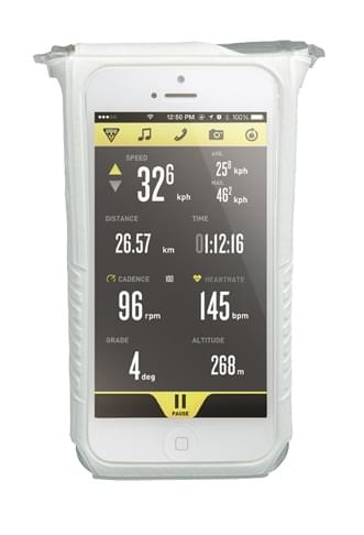 Topeak IPhone 5 DryBag - bílá uni