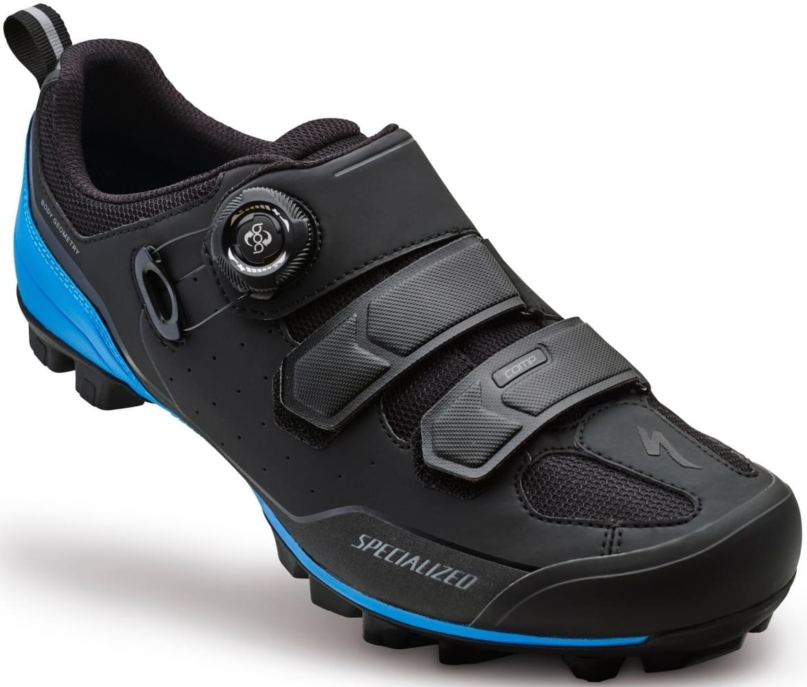 Specialized Comp Mtb - black/neon blue 49