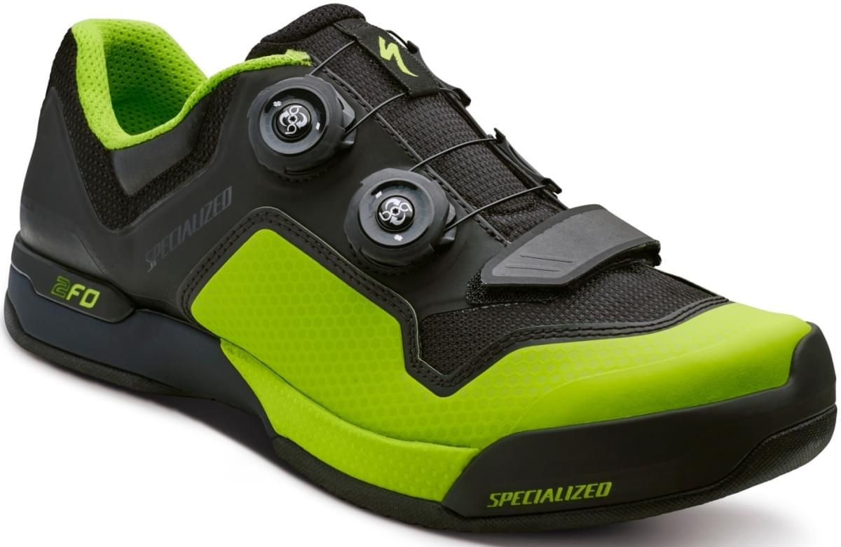 Specialized 2FO Clip Lite - black/monster green 42