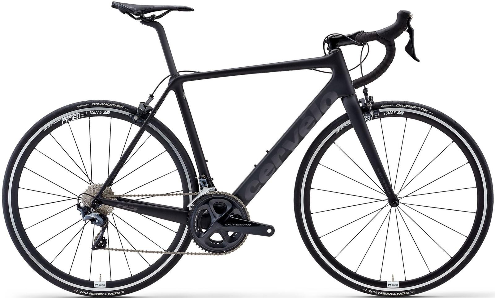 Cervelo R5 Ultegra - black/black/graphite 54