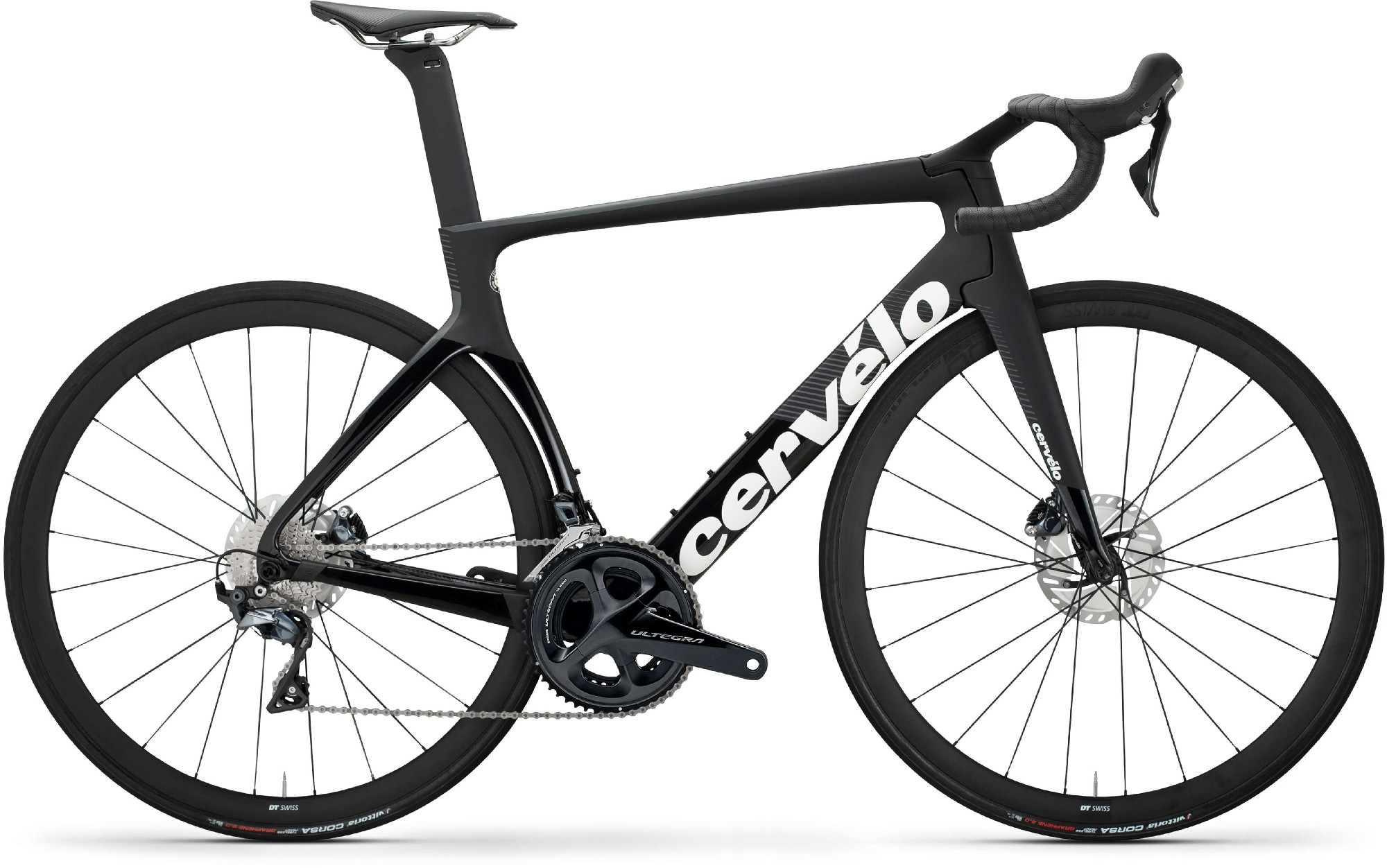 Cervelo S5 Disc Ultegra - black/graphite/white 54