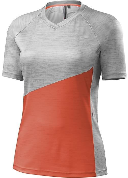 Specialized Andorra Comp Jersey Wmn - neon coral S