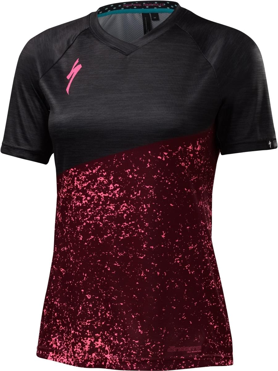 Specialized Andorra Comp Jersey Wmn - burgundy S