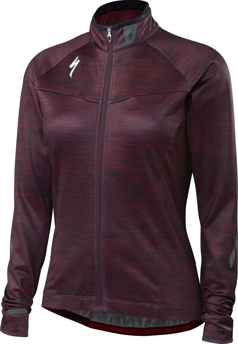 Specialized Therminal Jersey LS Wmn - black ruby S
