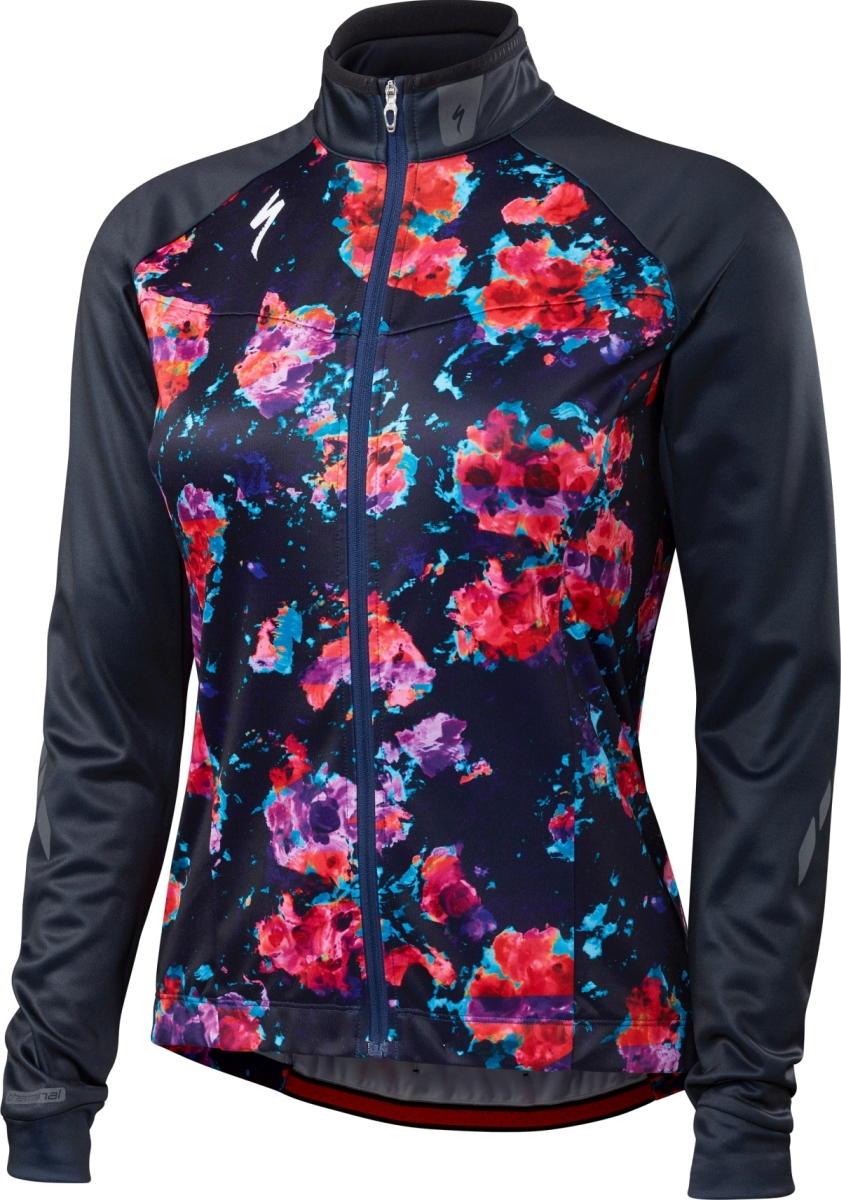 Specialized Therminal Jersey LS Wmn - navy S