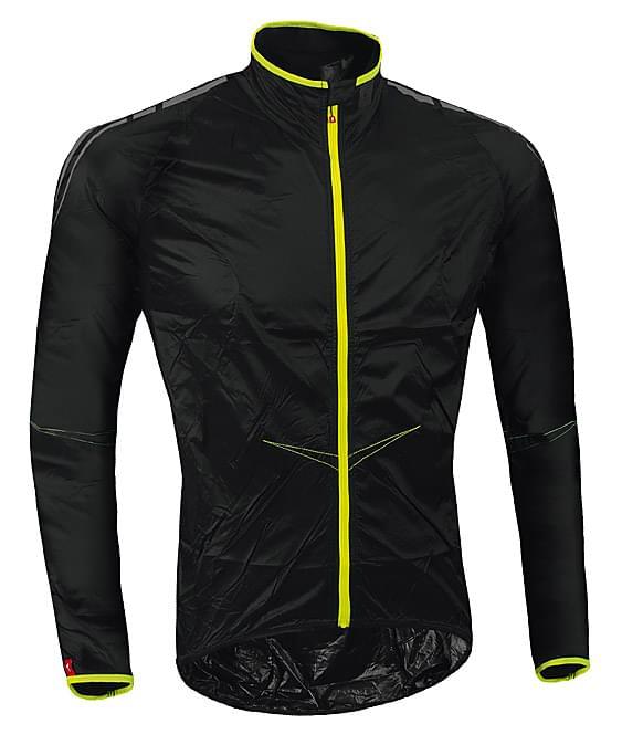 787158cf63f Cyklistická větrovka Specialized Comp Wind Jacket - black XXL