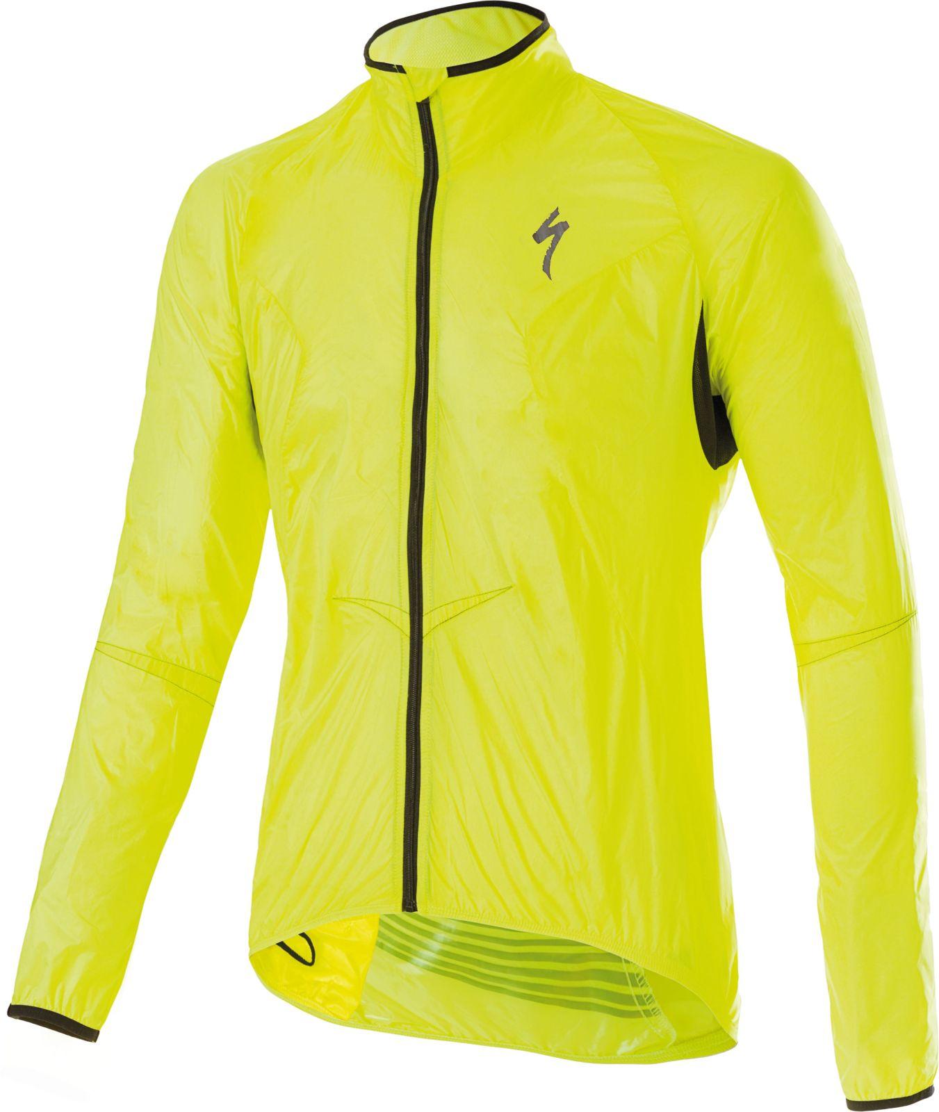 94b16c65c Cyklistická bunda Specialized Deflect Comp Jacket - neon yellow ...