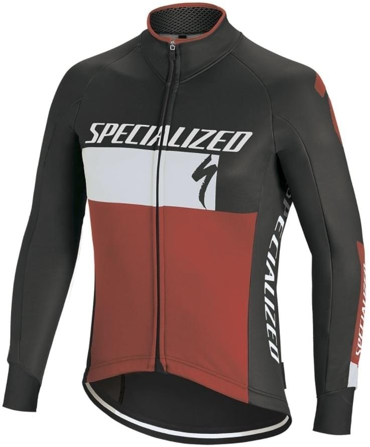 f5785ac219e Specialized Element Rbx Comp Logo Jacket - black white red L