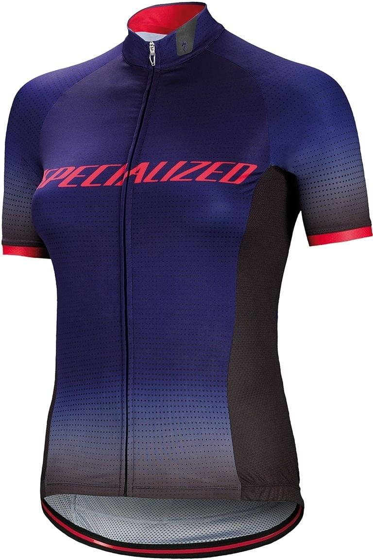 Specialized Sl Pro Jersey SS Wmn - indigo fade team M