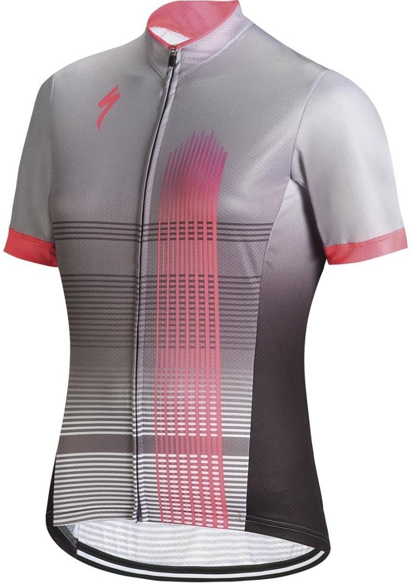 Specialized Rbx Comp Jersey SS Wmn - light grey/neon pink XL