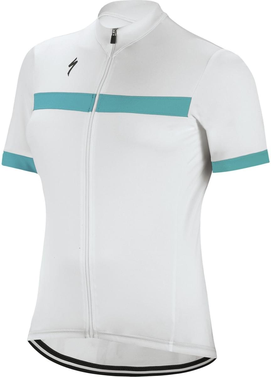 Specialized Rbx Sport Jersey SS Wmn - white/turquoise S