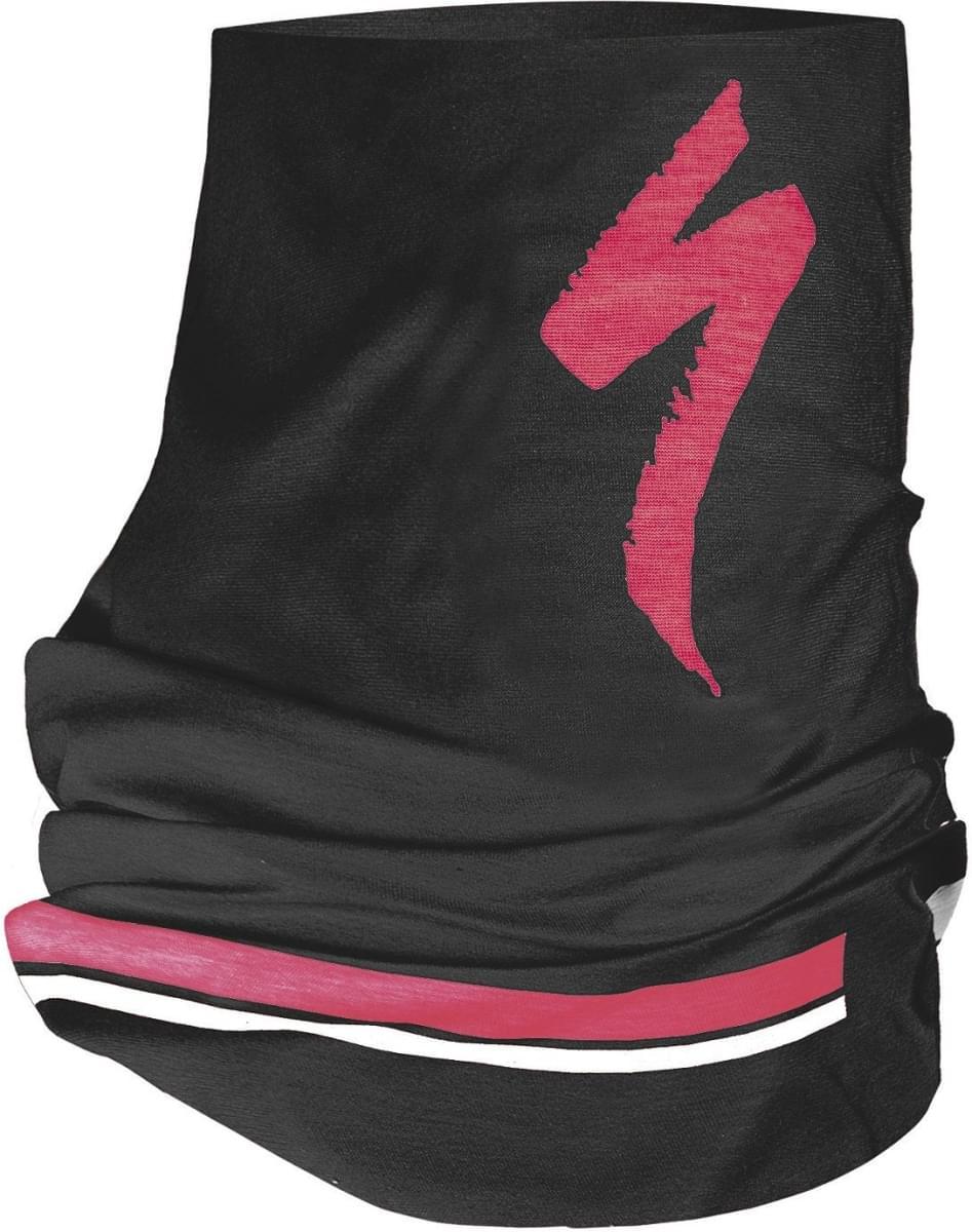 849215c3a6a Šátek Specialized Tubular Headwear S-Logo - black acid red white ...