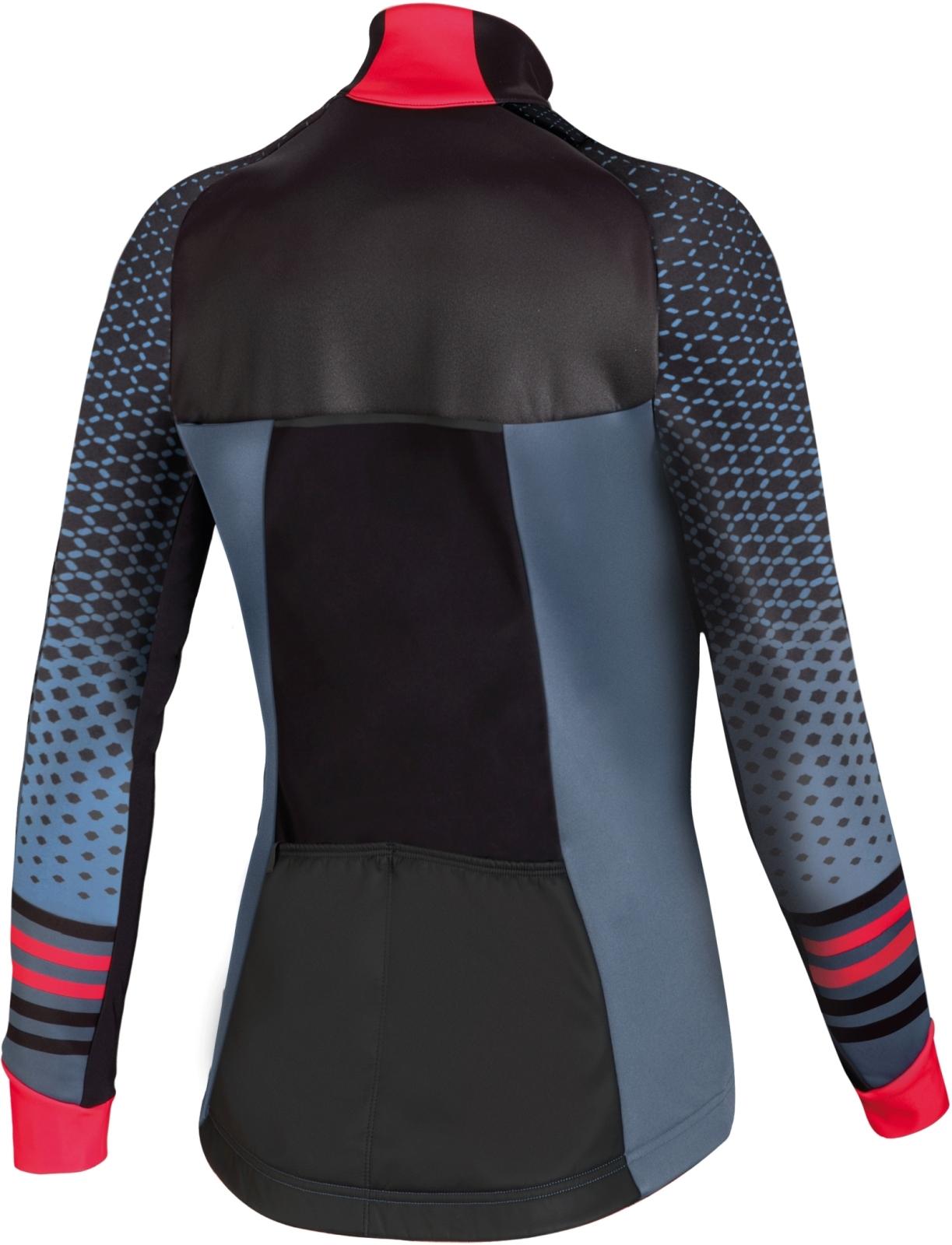 f08ae2471 Dámská cyklistická bunda Specialized Element Rbx Comp Wmn Jacket - dust  blue/acid red