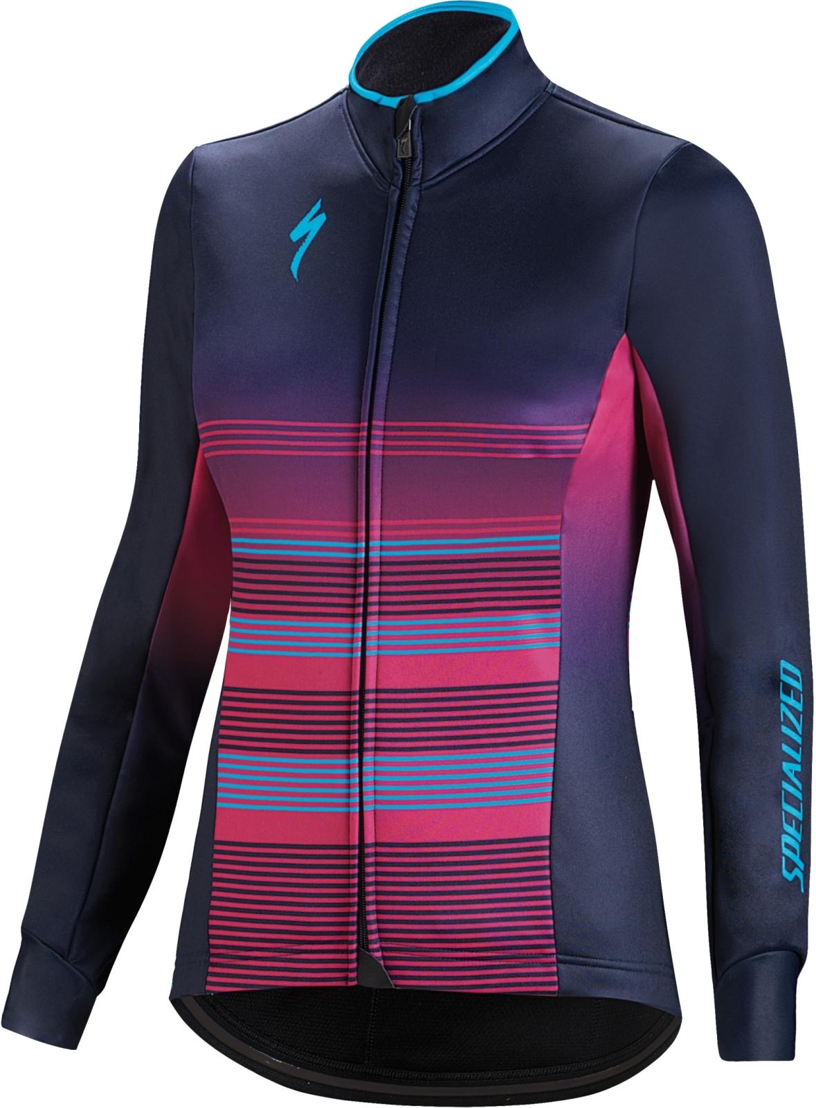 c8fb72af5 Dámská cyklistická bunda Specialized Element Rbx Comp Logo Wmn Jacket -  blue/violet/neon blue