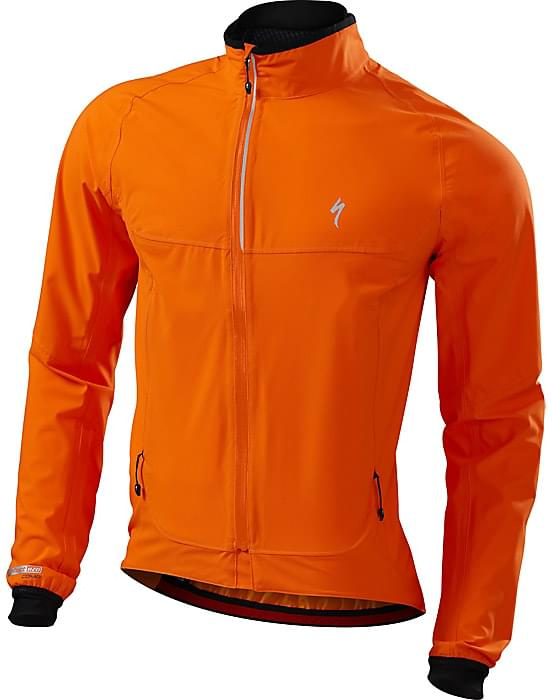 d95c7ec2a07 Cyklistická bunda Specialized Deflect H20 Comp Jacket - neon orange