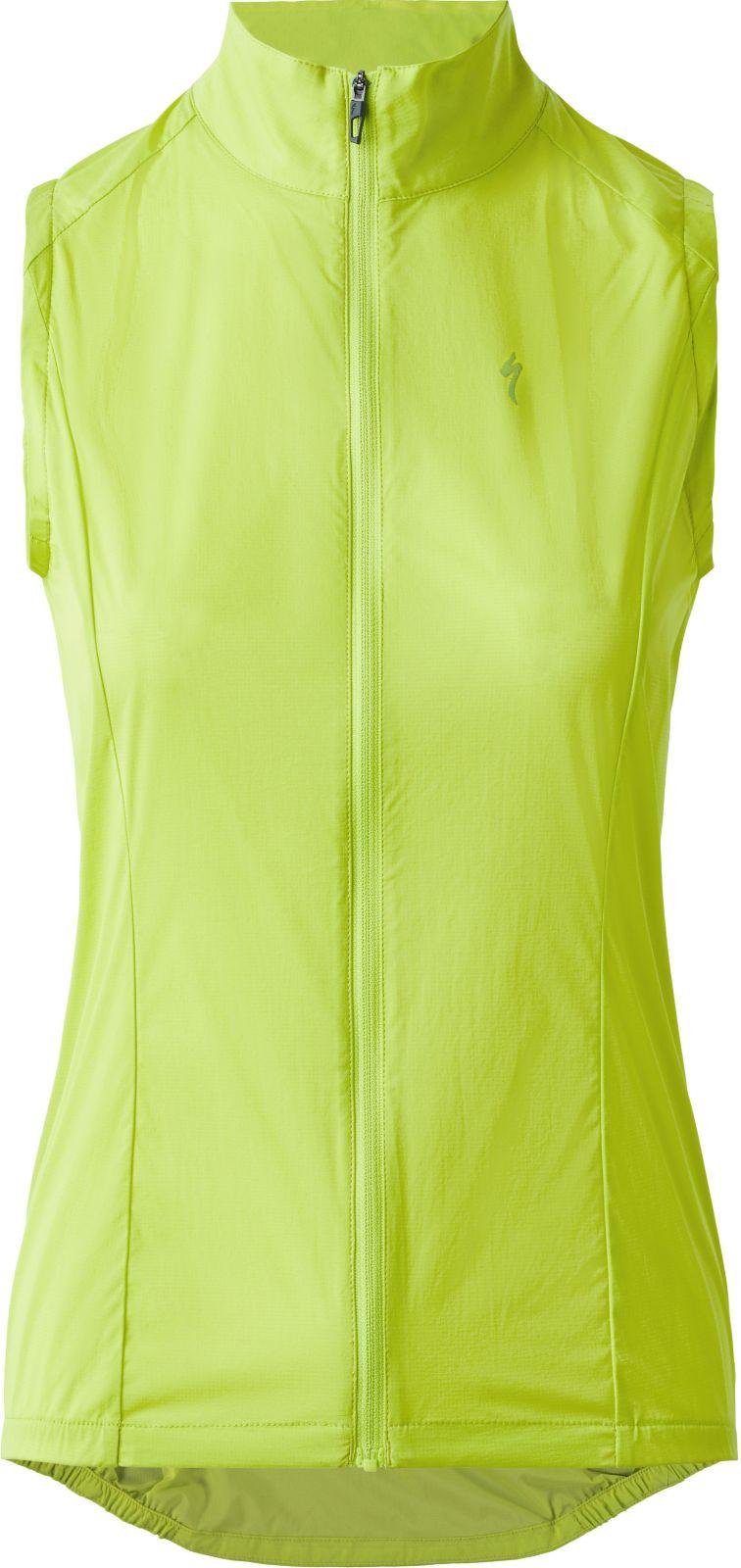 E-shop Specialized Women's HyprViz Deflect Wind Vest - hyperviz L