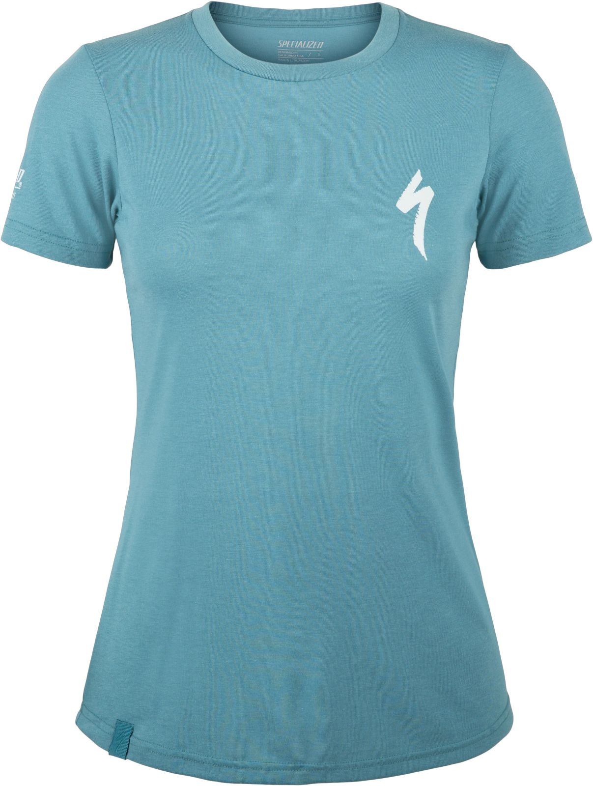 Specialized S-Logo Tee SS Womens - dusty turquoise M