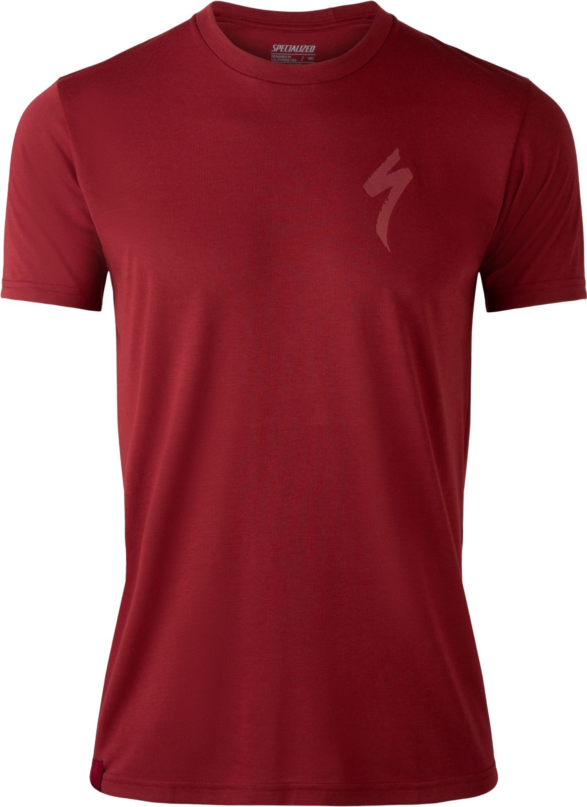 Specialized Specialized Tee Men - crimson XL