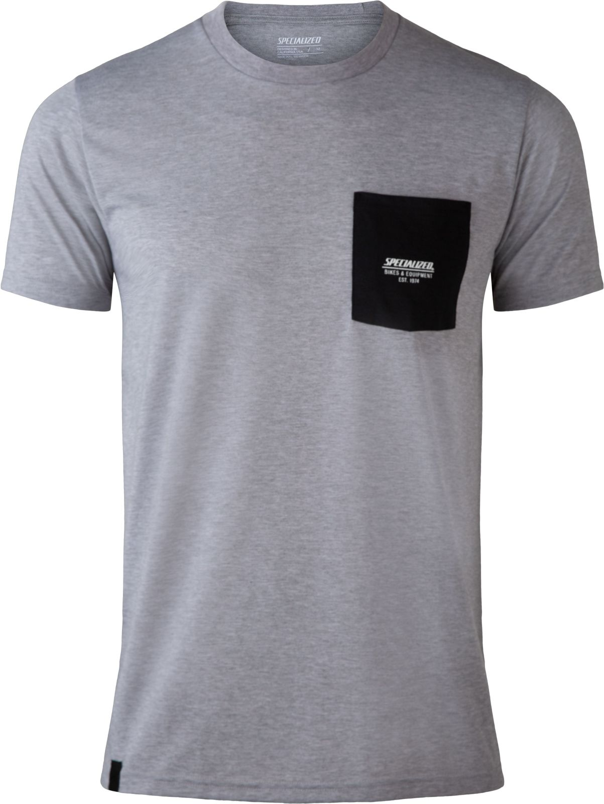Specialized Pocket Tee SS Mens - charcoal XXL