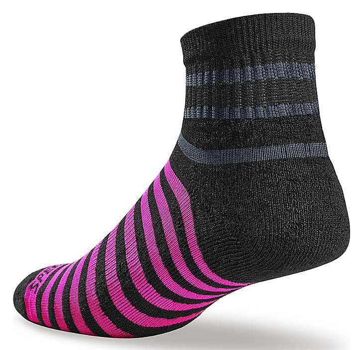 Dámské sportovní ponožky Specialized Mountain Mid - black 40-42