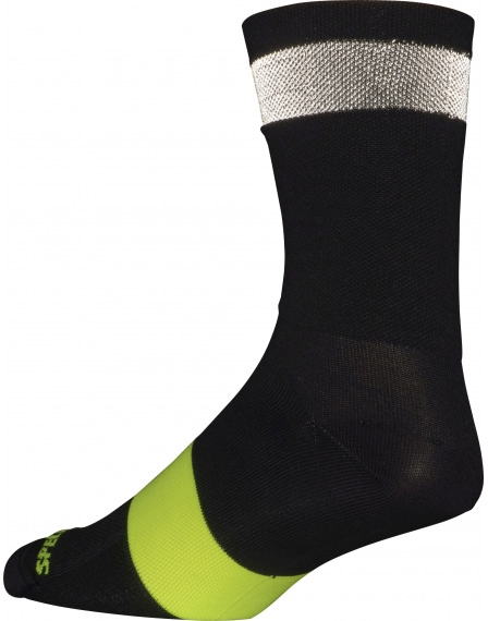Specialized Reflect Tall Sock - black XL