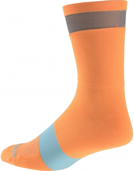 Specialized Reflect Tall Sock - neon orange XL